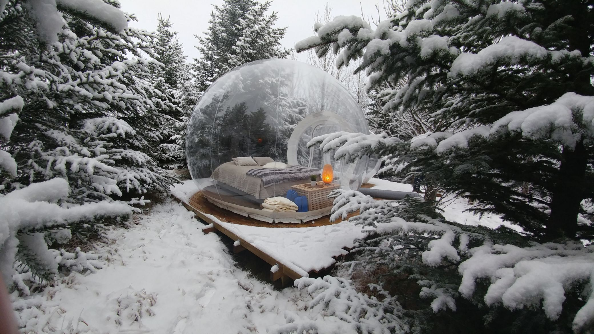 Buuble hotel glamping