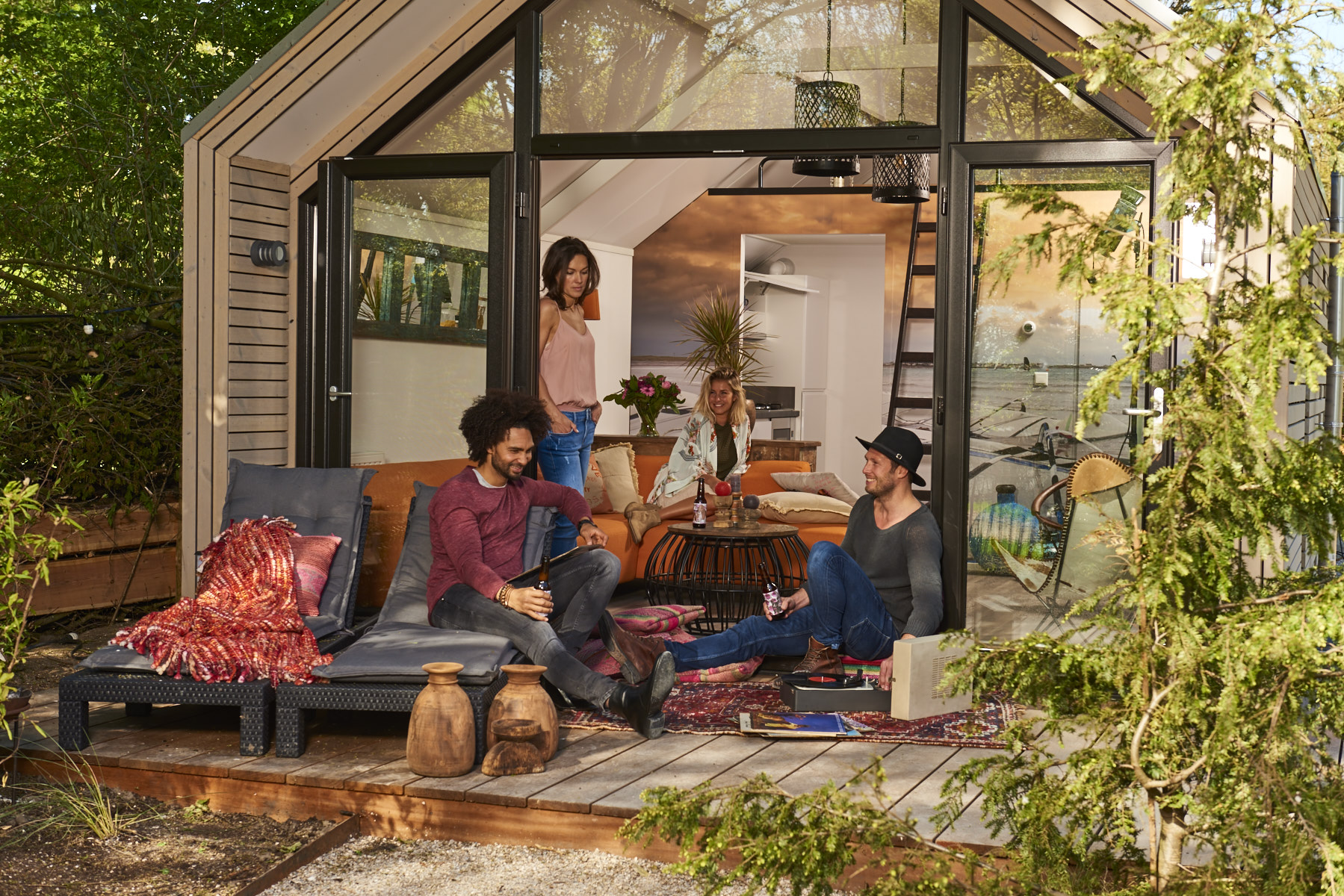 Nieuwe glamping trend gespot tiny house glampings for Tiny house movement nederland