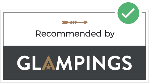 Recommended on Glampings.nl