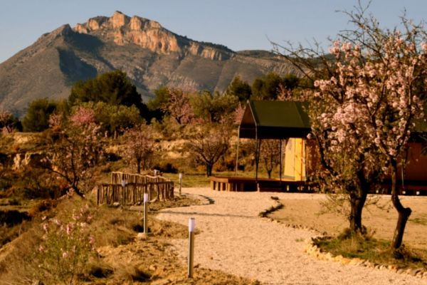 Top 5 unieke glampings in Spanje