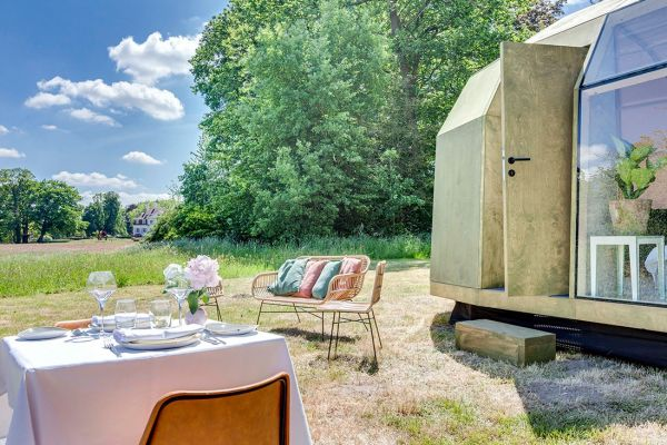 Trend: 4x pop-up Glampings in Nederland en België