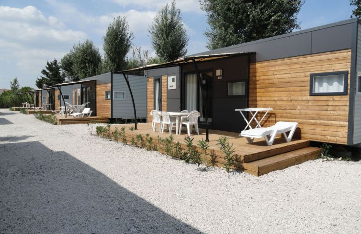Camping Les Sables d'Or - Lodges Languedoc-Roussillon