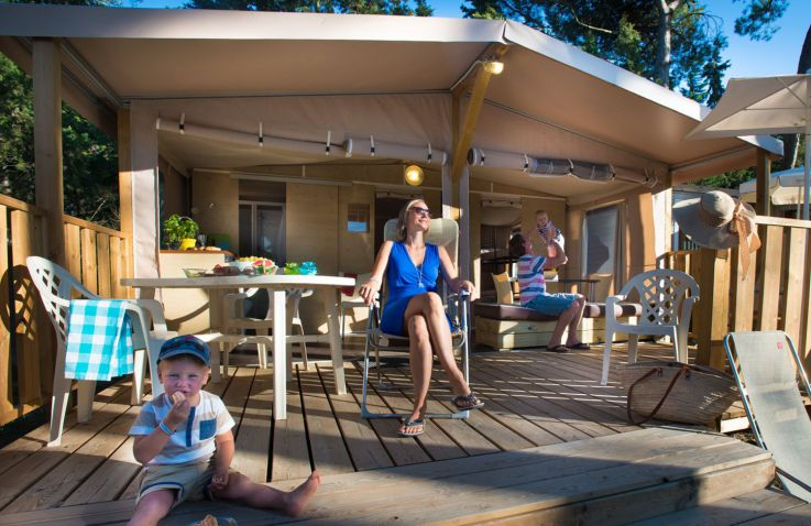 Camping Nouvelle Floride - Lodgetent in Languedoc-Roussillon