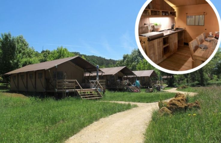 Glamping - Luxe Safaritent
