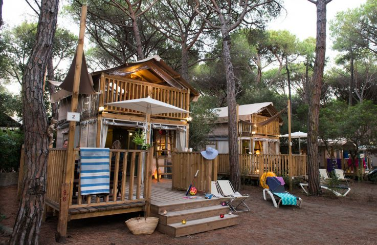 Camping International Etruria - Airlodges in Toscane