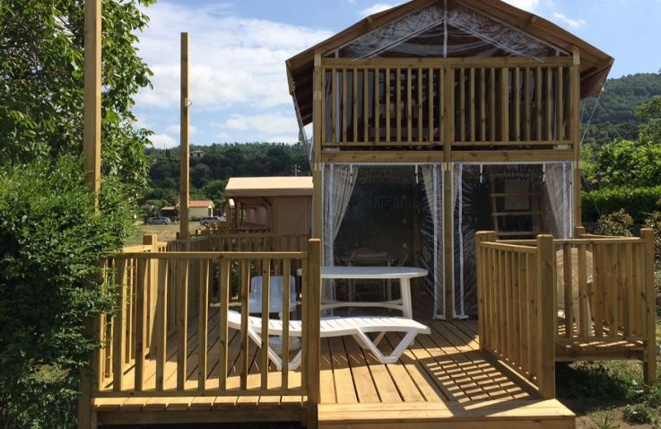 Camping Blu International - Airlodges en lodgetenten bij Rome