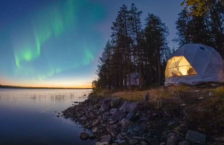 Aurora Dome & Glamping - Domes in Finland