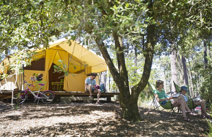 Huttopia Lac de Carcans - Glamping Aquitaine