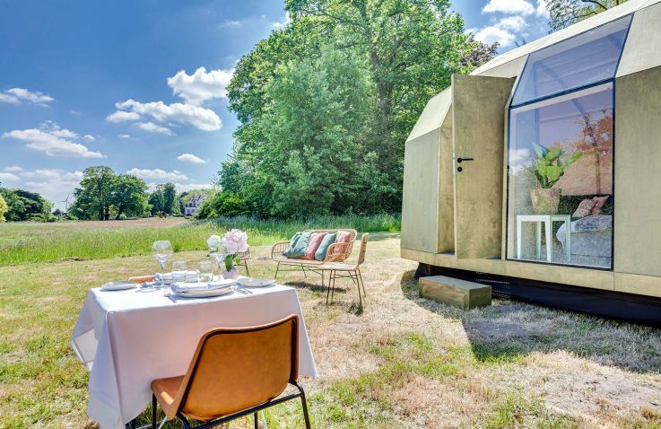 TORTIGA - Pop-up glamping resort in Oost-Vlaanderen