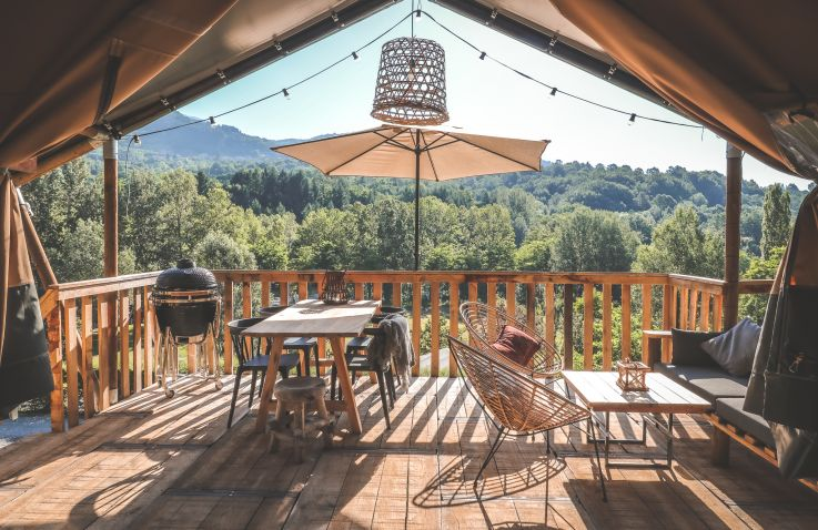 Rancone lodges - Lodges in onontdekt Toscane