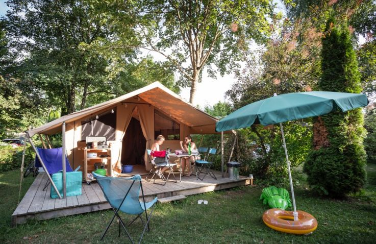 Huttopia Lac d'Aiguebelette - Glamping Savoie