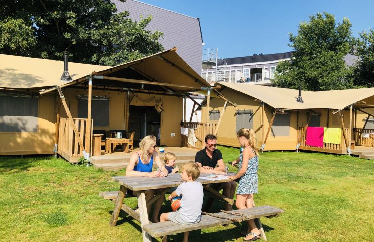 Camping Coogherveld Texel - Lodgetent Noord-Holland