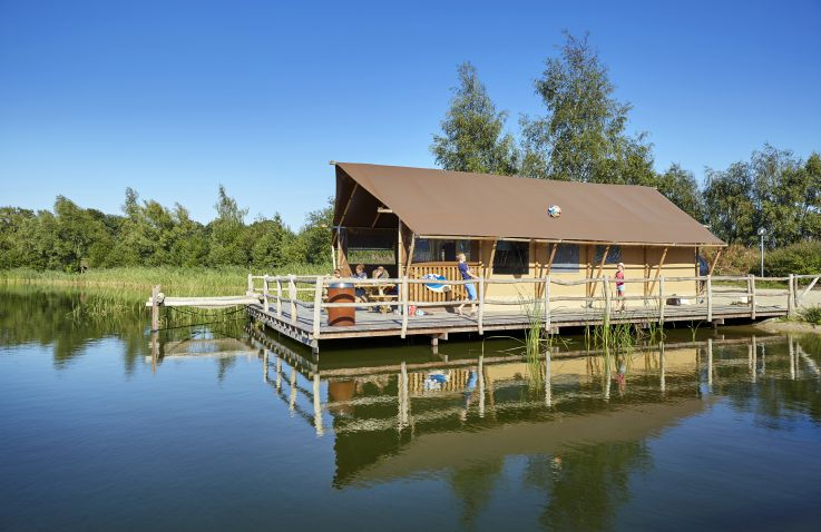Recreatiepark TerSpegelt - WaterLodges Brabant
