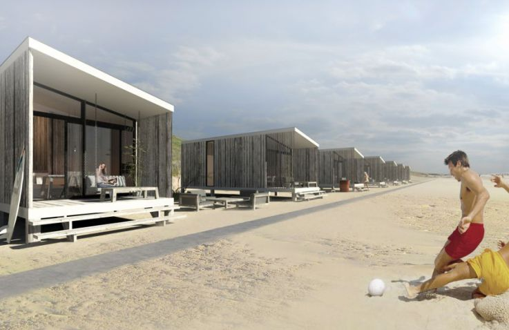 beach house roompot vakantiepark kijkduin strandhuisjes glamping den haag zuid holland. Black Bedroom Furniture Sets. Home Design Ideas
