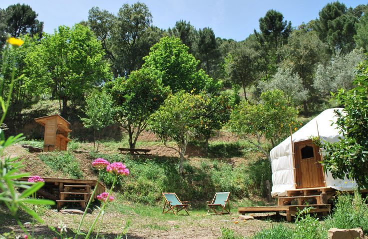 Glamping Cloud House Farm - Yurts Andalusië