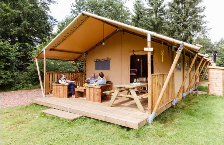 luxe camping friesland