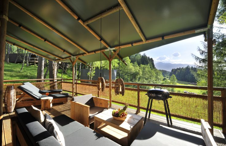 Nature Resort Natterer See - Safarilodges Tirol
