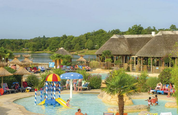Camping Les Alicourts Resort - Safaritenten Frankrijk